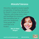 #VoiceForTolerance Your Voice for a #Tolerant Pakistan. RT if you want to raise your voice for a #Tolerant #Pakistan. http://t.co/nVtGGycDQx