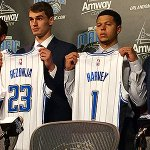 Magic Rookies Mario Hezonja & @YoungTRaaw meet the media. Watch Live: http://t.co/bYt7HyRG4l http://t.co/Liw1nVfYKt