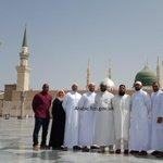 #مسلمون من الجيش البريطاني في زيارة للمسجد النبوي في #المدينة_المنورة للمرة الأولى #رمضان #رمضان_كريم #صورة #تغريدة http://t.co/QnypIEK2Rj