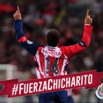 Equipo y afición, estamos contigo @Ch14_. ¡Sabemos que pronto estarás de regreso! #FuerzaChicharito http://t.co/VaOjwBOgy8