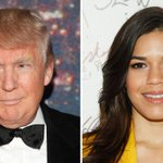 """""""You, Mr. Trump, are living in an outdated fantasy of a bigoted America."""" — America Ferrera http://t.co/8HSSvgHRPU http://t.co/tgT8NXqOfB"""