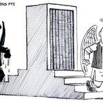 Samsam bokhari joins PTI.....My cartoon for Express Tribune http://t.co/hvwFGwp84Z