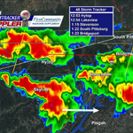 (12:41pm) SVR Tstorm warning for northern Jackson Co..60 mph winds. Strong storm to the south crossing Hwy 72. http://t.co/OAK3gH5hiC