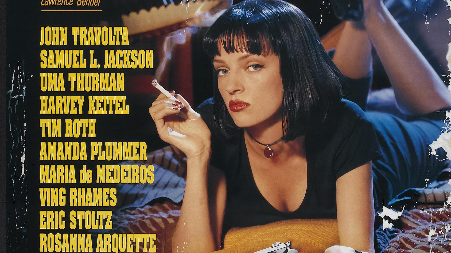Pulp fiction movie poster amazon