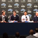 Mario Hezonja and @YoungTRaaw introduced by the @OrlandoMagic. #Fox35 http://t.co/ZDUbNMzHn5