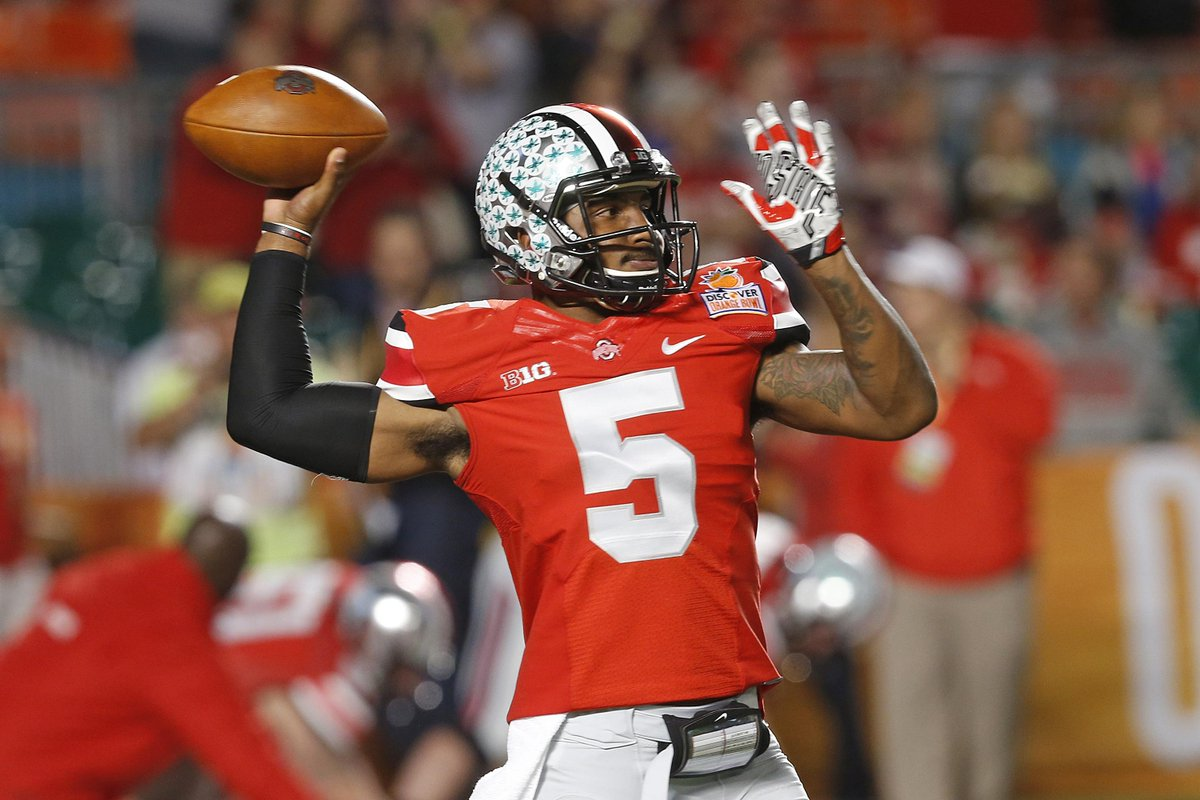 Braxton Miller has affirmed his plans to stay at Ohio State, source close to Miller tells @schadjoe.