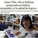 """Irene Villa: """"Si no hubiese perdonado no habría conseguido ni la mitad de logros"""". Irene Villa sí que es #MarcaEspaña http://t.co/hbGhWjqGYa"""