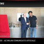 Galliani dan Luiz Adriano #BenvenutoLuizAdriano #Milan http://t.co/ef3REDf6AF