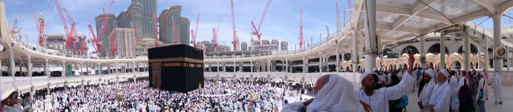 stealing Hussain & Bilal's Umrah pictures, looks amazing subhanAllah ❤️ http://t.co/63fGJ19FvJ