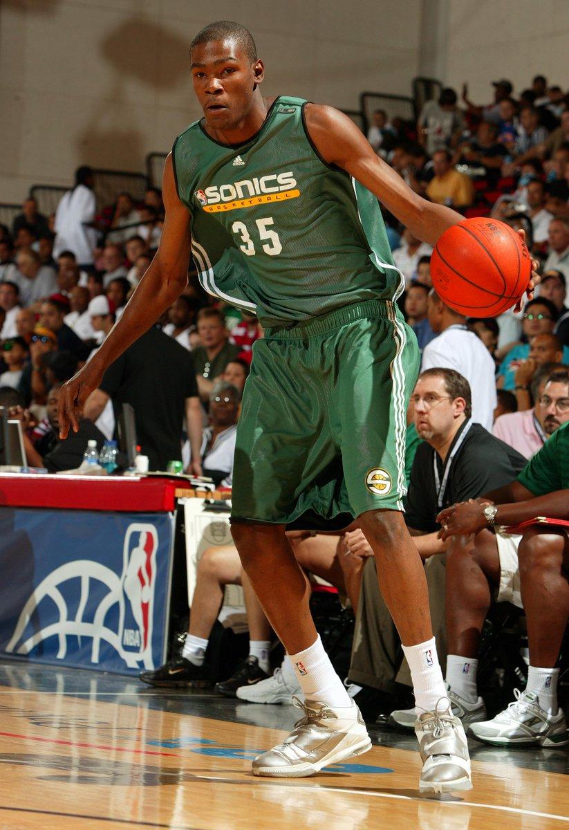 #TBT... @KDTrey5 at @NBASummerLeague in 2007!   More Info: