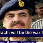#Karachi will be the war field in coming days http://t.co/fHuYEnzSIP http://t.co/Yyc23ov3jp