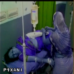 Hema Malini car accident(Dausa) : Injured being treated at the Hospital http://t.co/sgvwf2SHkn