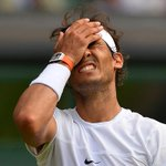 We feel your pain Rafa as Dustin Brown races to 2-0 up Watch now on @BBCTwo & at http://t.co/Sq9kIPcdea #wimbledon http://t.co/lvx1siuYSY