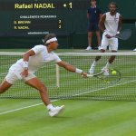 Nadal is in deep trouble now against Brown, trailing by 2 sets to 1 and a break early in the 4th #Wimbledon http://t.co/TSBu5Y0kmj