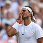 Two-time champion Rafa Nadal is OUT! Beaten 7-5 3-6 6-4 6-4 by Dustin Brown #Wimbledon http://t.co/Sq9kIPcdea http://t.co/fl4iVxPtDW