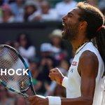 TysonCBeckford: RT Wimbledon: UPSET World No.102 DreddyTennis pulls off the win of his career, beating Rafael Nada… http://t.co/8fsf49qMd6