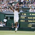 Dustin Brown stuns Rafael Nadal 7-5 3-6 6-4 6-4 #Wimbledon #Wimbledon2015 http://t.co/ayAMnsnmmn