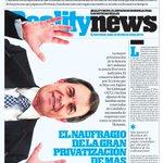 REALITY NEWS: MAS Y SU AFÁN PRIVATIZADOR. MUY REVELADOR. YA A LA VENTA!! http://t.co/gbfuwT7vnt