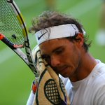 """Nadal: """"I lost & Im sad for that. But thats sport. There are good moments & bad moments, today is a bad moment"""" http://t.co/Vmy38moVCA"""