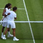 """Nadal: """"I am a good loser. When I am not that good, I always accept it. I congratulate my opponent"""" #Wimbledon http://t.co/kF1oAwKjNd"""