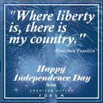 Happy 239th Birthday America! Share this message of liberty with your family and friends. #July4th #IndependenceDay http://t.co/ugxczxe4kq