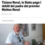 #Renzi: i debiti si pagano. Come ha fatto Tiziano Renzi? O come ha fatto lui con i pensionati italiani? #delinquente http://t.co/xmQzKErcTR