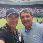 Con Tony Nadal. Sí, se ha perdido pero @RafaelNadal es el mas grande. #Wimbledon http://t.co/hvlNGgJYOh