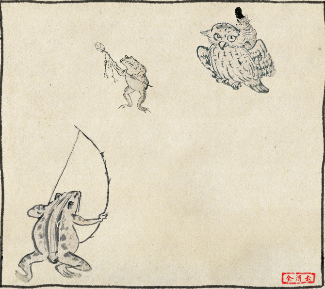 金鵄武者 #鳥獣戯画制作キット  #FEif http://t.co/80ia4Vs7Iv