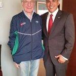 Fue un privilegio conocer a Don Jacobo Zabludovsky, un profesional del periodismo y una gran persona. http://t.co/1oO9c4FXIi