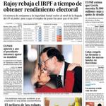 Rajoy rebaja el IRPF; las protestas cercan a Correa en Ecuador y el peligro de los robots... http://t.co/XgT872o2nk http://t.co/fmNj2nPKuO