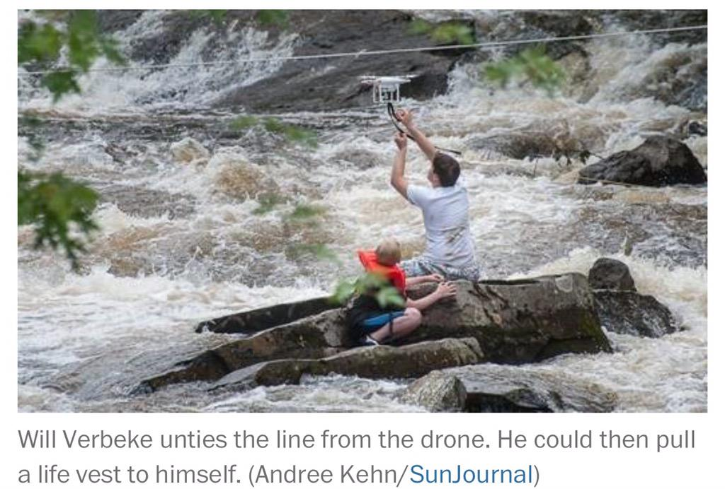 Fire chief used his drone to deliver a life vest to a stranded kid http://t.co/jh5s8hJBsA #SMEM #drones #Innovation http://t.co/nWIFhd4A3n