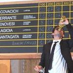 Nicola #Lagioia festeggia il 69esimo #PremioStrega vinto con #LaFerocia (se rubate la foto, citatemi) http://t.co/lA1B9KSKdp