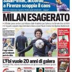 ENORME prima pagina del @CorSport che al posto di Luiz Adriano mette Taison. ENORME! http://t.co/mVwebUlAUa