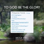 #MCGIHappyThanksgiving2015 was on the Philippines Trend list earlier. Let us keep on tweeting using the hashtag! http://t.co/jKxEGhFQR1
