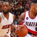 Dwyane Wade, back in Miami: http://t.co/vC9aZ1UrpD Damian Lillard, back in Portland: http://t.co/e9Os65MqVO http://t.co/kifgbXbTlK