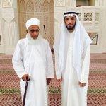 سماحة الشيخ العلامة أحمد الخليلي في صورة تجمعه مع الدكتور محمد العوضي الذي يزور السلطنة. http://t.co/6rBwM48LHX