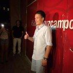 La primera foto de Konoplyanka como sevillista tras el slogan #SomosCruzcampo ¡¡¡ empiezas bien chaval!!!! http://t.co/d7nTdKaXNg