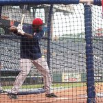 Watch out, deep seats. @SanoMiguel is here. http://t.co/arYnhCQc1C