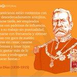A 100 años de la muerte de Porfirio Díaz recordamos una de sus frases más conocidas @palabrafilica http://t.co/87Ja7tb07e