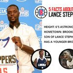 Anyone else excited to see @StephensonLance in a Clippers uniform this season? http://t.co/eiWRn42bzU
