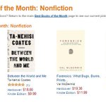 RT @penguinpress: Best Books of the Month from @amazonbooks: @FrankWilczek's A BEAUITUFL QUESTION  http://t.co/b7oWp8Yzzy
