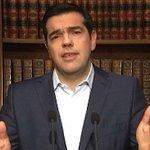 Tsipras: accordo 48 ore dopo voto - Grecia, lannuncio del premier in tv #crisigrecia http://t.co/Af084clqEG http://t.co/z5BQq2Nhpv