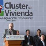 Asistí a la toma de protesta del Consejo Consultivo del clúster de vivienda en el estado de Guanajuato. http://t.co/gSVokVvzqj