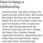 """Leave past to the past brooooo. Read this! """"@9GAG How to keep a relationship http://t.co/vDRbWf4FtI"""