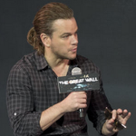 Matt Damon now has a ponytail, which apparently seems more important than his big-budget film http://t.co/TIay2jSzQ2 http://t.co/oFwiVvGhoa