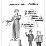 """""""@Corriereit: La vignetta di #Giannelli #Grecia #Merkel http://t.co/XFc1lb5F04 http://t.co/Tl6B3cVsYx"""""""