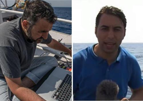 Journalists speak out against #FreedomFlotilla ordeal at hands of Israel http://t.co/iD83EgVpuv via @AlJazeera #Gaza http://t.co/5tL9GwVTOT