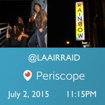 Not coming to @Rainbowlive tonight? Watch us on #Periscope. #Hollywood #LosAngeles #Sunsetstrip #WestHollywood http://t.co/pqpHfXbXnK