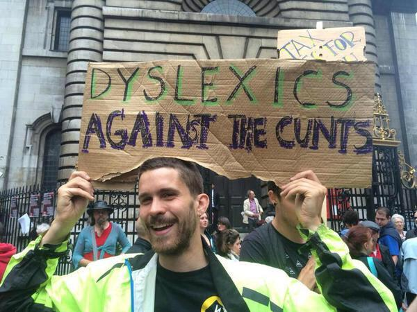 #EndAusterityNow march sign of the day http://t.co/PhnX1GBqJS