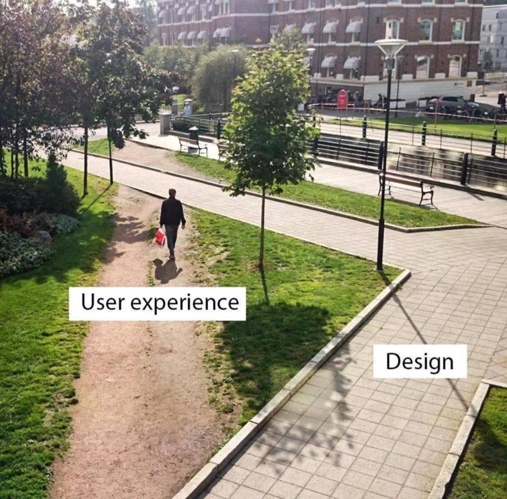 User Experience v. Design. http://t.co/0QWoSu7YkP